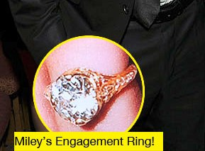 Miley Cyrus' Engagement Ring